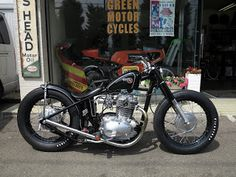 green motor cycles