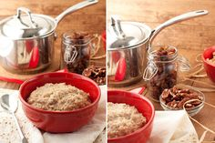 Cinnamon-Roll-Porridge-(9): Something to make a lot of on Sunday and freeze for breakfast for the week.