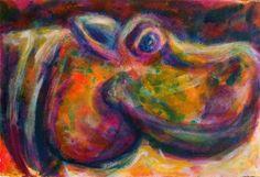 Hippo by Erika Johnson  www.erikajohnsoncreations.com