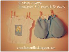 Cosas de Butterflies: DIY Tutorial y Patrón (gratis) Pantalón bebé bomba...