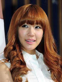 snsd tiffany brown hair   Women Hairstyles Ideas