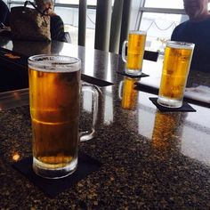 Some #SundayFunday brewvu from a fan at Champs at the #INDairport ... a little Lift Off IPA before lifting off