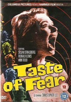 TASTE OF FEAR - Hammer Horror - Christopher Lee - VERY GOOD CONDITION - REGION 2