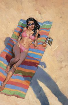 Greg Manchess  -  Sun interrupted