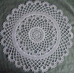 Vintage lace doilys cheap on ebay.