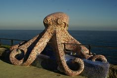 Mosaic Octopus in Coruna, Spain - photo from The Motorhome Diaries Spain Travel, Us Travel, Roadside Attractions, Study Abroad, Art And Architecture, Yahoo Images, Image Search, Cruise, Beautiful Places
