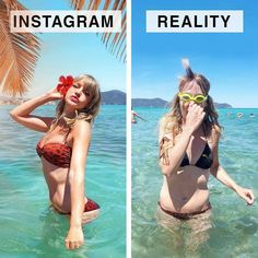 "This Blogger Compares ""Instagram vs. Reality"" Photos and It's Hilariously Relatable - bemethis"