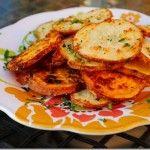 Baked Parmesan Garlic Fries