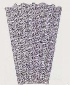 Crochet 2 - Marianna Lara - Álbuns da web do Picasa Crochet Stitches Patterns, Crochet Chart, Crochet Granny, Fabric Patterns, Crochet Lace, Stitch Patterns, Crochet Skirts, Crochet Books, Le Point
