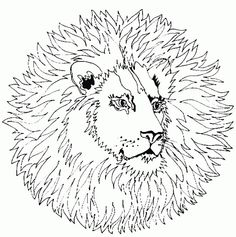 mandala coloring pages animals