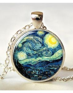 Van Gogh Necklace WANT WANT WANT WANT!!!!