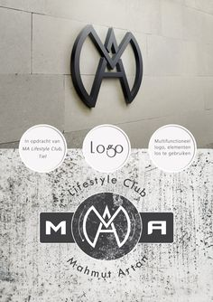 Lifestyleclub, sport, fitness, logo, industrial