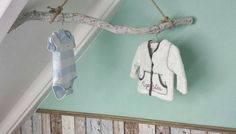 Soft pastel green Nursery Room, Boy Room, Kidsroom, Kid Spaces, My Baby Girl, Home Deco, Clothes Hanger, Baby Kids, Blog