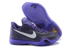 premium selection e7706 82ab8 Kobe 10 X Hyper Grape Club Purple White Nike Kids Shoes, Nike Shox Shoes,