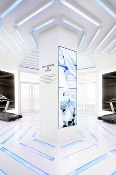 Image 2 of 15 from gallery of NIKE + RUN CLUB Hubs Land in Shanghai / Coordination Asia. Photograph by Coordination Asia Asian Interior Design, Asian Design, Top Interior Designers, Display Design, Booth Design, Store Design, Banner Design, Exhibition Stall, Exhibition Stand Design
