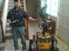 Guy Spends 2 Years Building Amazing Life-Size Wall-E