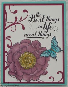 Blended Bloom from Stampin' Up! @ My Tanglewood Cottage