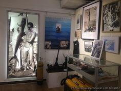 foto Musée Frederic Dumas expedições de Jacques Costeau