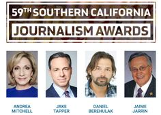 Who is a Finalist for the Southern California Journalism Awards?