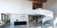 lobby creative office @kevintsaiarchitecture