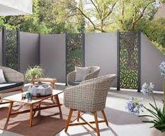sichtschutz aus edelstahlelementen – Google Suche Outdoor Furniture Sets, Outdoor Decor, Aluminium, Outdoor Living, Room, Home Decor, Montage, Board, Google