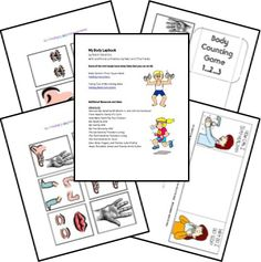Here is a FREE My Body Lapbook for Preschool and Early Elementary students. This is a level 2 lapbook that includes activities that are suited for younger children. Alphabet Activities, Science Activities, Teaching Science, Body Preschool, Preschool At Home, Elementary Pe, Card Workout, Human Body Unit, Grande Section