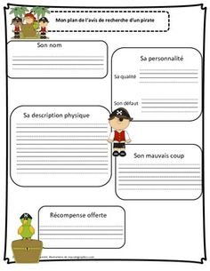 Pirate Invasion, France, Teaching Resources, Pirates, Teacher, Writing Ideas, School, Classroom, Plural Of Nouns