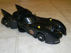 Vintage 1989 Toy Biz BATMOBILE - Dark Knight - Batman | eBay
