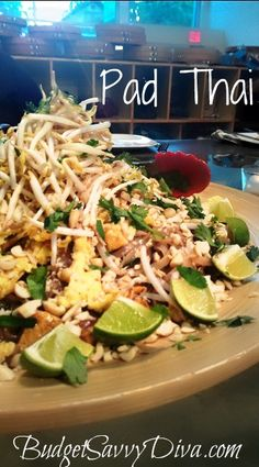 Pad Thai Recipe Pad Thai Recipe Gluten - Free, Full of Flavor, Kid Friendly Wok Recipes, Asian Recipes, Cooking Recipes, Healthy Recipes, Healthy Breakfasts, Free Recipes, Healthy Snacks, Recipies, Asian Cooking