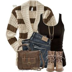 """""""Shades of Brown"""" by bitbyacullen on Polyvore"""