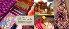 Handcrafted traditional yet contemporary products. Great gifts for all ocassions