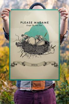 Gig posters by Hans-Christian Kogler