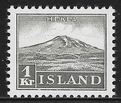Iceland Stamp - Hekla
