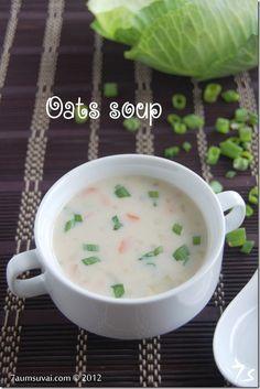 7aum Suvai: Oats soup