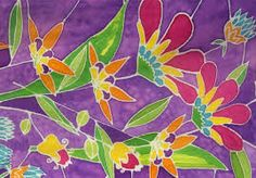 silk painting - Google Search