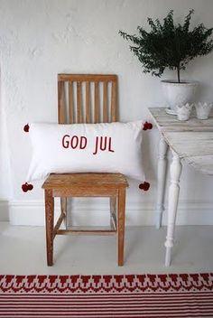God Jul ~ Merry Christmas ~ scandinavian style ~ yule
