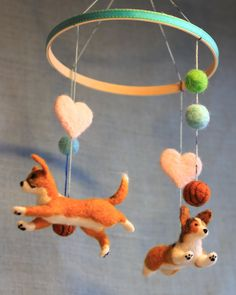 Baby Mobile with Custom Pet Portraits