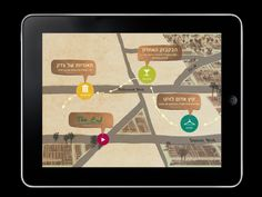 Roger Rabitt - City guide by Maya Gemer, via Behance