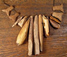 Ancient Eskimo carved bone and ivory artifacts.