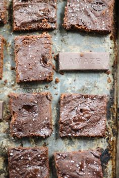 Superfood Chocolate Chunk Paleo Coconut Flour Brownies + ALOHA Giveaway | Ambitious Kitchen