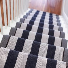 Carpet Runners Over Carpeted Stairs White Staircase, Staircase Runner, Staircase Design, Stair Runners, Staircase Ideas, Stair Design, Staircase Remodel, Staircase Makeover, Rug Runners