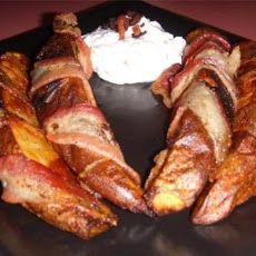 Bacon Wrapped Steak Fries Recipe
