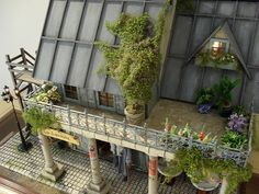 There's no way I'd be able to create something this awesome, as if dolls houses aren't cool enough, this one has a rooftop terrace!