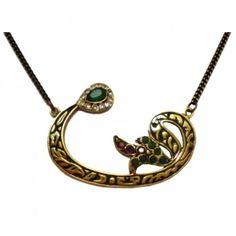 ♔ Arabic Writing Jewellery: vav..