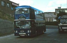 Falkirk Bus Station (22 August 1981) Double Deck, Bus Coach, Bus Station, Busses, Dundee, Coaches, Scotland, Transportation, Trucks