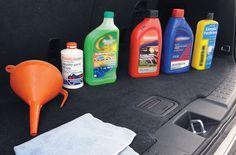 líquidos del auto