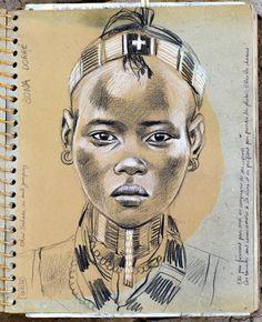 Stéphanie Ledoux - Carnets de voyage en ethiopie