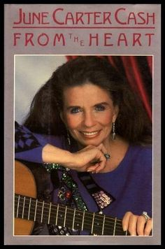 From the Heart by June Carter Cash - Prentice Hall (Higher Education Division Pearson Education) - ISBN 10 0135307678 - ISBN 13 Johnny Cash June Carter, Johnny And June, Reese Whiterspoon, Old Country Music, Carter Family, Country Musicians, Sweet Soul, Book Summaries, Best Selling Books