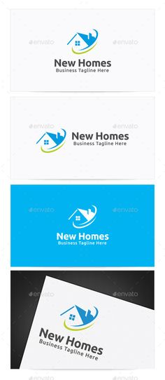 New Homes  Logo Design Template Vector #logotype Download it here:  http://graphicriver.net/item/new-homes-logo/10357060?s_rank=553?ref=nexion