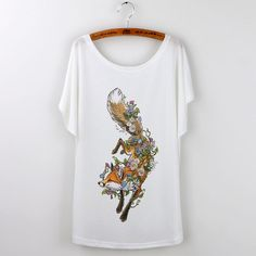 New Summer Animal T-Shirts For Women (Color: 590) | To save upto 40% visit our website  uniquefashionusa.com